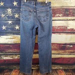 VINTAGE LEVIS SILVER TAB RELAXED STRAIGHT JEANS